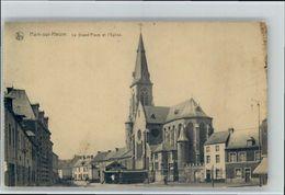 10785339 Ham-sur-Heure Ham-sur-Heure Eglise Grand Place * - Belgio