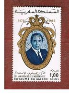 MAROCCO (MOROCCO)  -  SG 431 -   1975 INDEPENDENCE ANNIVERSARY: MOHAMED V  - USED ° - Marocco (1956-...)