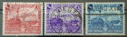 ITALIA ITALY 1939 - Canceled - Mi 449-451 - Centenario Delle Ferrovie - 1900-44 Vittorio Emanuele III