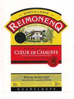 "Etiquette RHUM  Reimonenq Blanc Coeur De Chauffe - "" 100 Ans ""- GUADELOUPE - - Rhum"