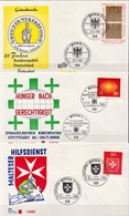 Germany 3 FDCs From 1969 - [7] Federal Republic