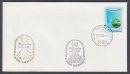 UNO Wien-UN Vienna - Beleg 1994 - MiNr. 27 - Gold-Sonderstempel - Philatelia Mit T'card, Köln - UNO