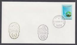 UNO Wien-UN Vienna - Beleg 1994 - MiNr. 27 - Gold-Sonderstempel - Briefmarken-Salon, Donaueschingen - UNO