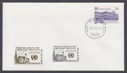 UNO Wien-UN Vienna - Beleg 1993 - MiNr. 47 - Gold-Sonderstempel - Naposta 93, Dortmund - UNO