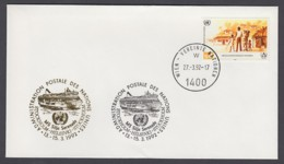 UNO Wien-UN Vienna - Beleg 1992 - MiNr. 69 - Gold-Sonderstempel - MS Silja Serenade - UNO