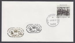 UNO Wien-UN Vienna - Beleg 1992 - MiNr. 96 - Gold-Sonderstempel - Motiva 92, Sindlfingen - UNO