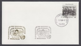 UNO Wien-UN Vienna - Beleg 1996 - MiNr. 96 - Gold-Sonderstempel - Int. Briefmarkenbörse, Sindelfingen - UNO