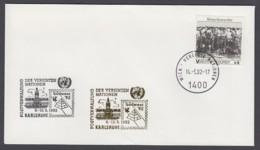 UNO Wien-UN Vienna - Beleg 1992 - MiNr. 96 - Gold-Sonderstempel - Südwest 92, Karlsruhe - UNO
