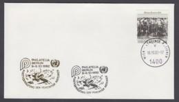 UNO Wien-UN Vienna - Beleg 1992 - MiNr. 96 - Gold-Sonderstempel - Philatelia 92, Berlin - UNO