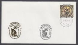 UNO Wien-UN Vienna - Beleg 1993 - MiNr. 97 - Gold-Sonderstempel - Int. Briefmarkenbörse, Sindelfingen - UNO