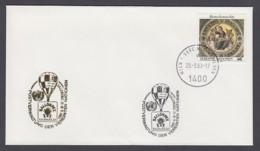 UNO Wien-UN Vienna - Beleg 1993 - MiNr. 97 - Gold-Sonderstempel - Ballonpex 93, Salzburg - UNO