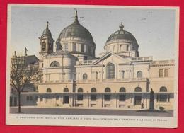 CARTOLINA VG ITALIA - TORINO - Santuario Maria Ausiliatrice Visto Dall'Oratorio Salesiano - 10 X 15 - 194? - Kerken En Kloosters