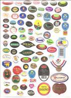 Étiquettes Fruits - 001 - Fruits & Vegetables