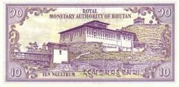 BHUTAN P. 15b 10 N 1994 UNC - Bhutan