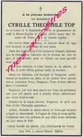 En 1950 Locre Et Neuve-Eglise (59) Cyrille TOP Né En 1870 - Décès