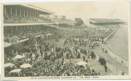 Melbourne 1954; Caulfield Racecourse - Circulated. (Argus Photo) - Melbourne