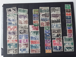 France Obliteres 1940à 1949 - 1940-1949