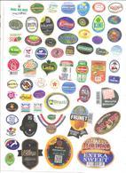Étiquettes Fruits - 003 - Fruits & Vegetables