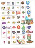 Étiquettes Fruits - 004 - Fruits & Vegetables