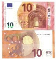 10 €  ITALIA FDS UNC Serie S003 Sc DRAGHI  Cod.€.096 - 10 Euro