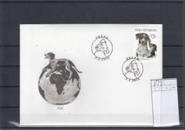 Tschechische Republik Michel Cat.No. FDC 873 Dog - FDC