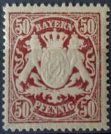 BAVARIA - MLH - Mi 59 - 50pf - Bayern