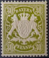 BAVARIA - MLH - Mi 66 - 30pf - Bavaria