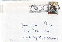 TP  N° 2853 Seul Sur Enveloppe De Grainville L'Engannerie - 1961-....