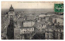 75 Paris 18ème - Vue Panoramique Vers La Rue André Del Sarte - Arrondissement: 18