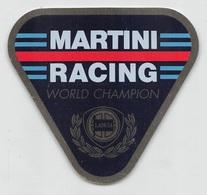 """09409 """"MARTINI RACING - WORLD CHAMPION"""" ETICHETTA AUTOADESIVA - Adesivi"""