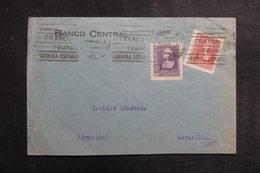ESPAGNE - Enveloppe Commerciale De Madrid Pour La France En 1939, Affranchissement Plaisant - L 39874 - 1931-50 Briefe U. Dokumente