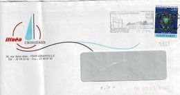 TP  N° 2855 Seul Sur Enveloppe De Granville - Marcophilie (Lettres)