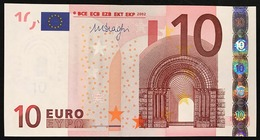 GERMANIA GERMANY 10 € X MARIO DRAGHI E006a5 COD.€.273 - EURO