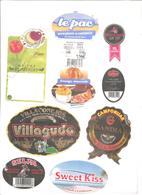 Étiquettes Fruits - 008 - Fruits & Vegetables