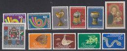 Liechtenstein 1973 11v ** Mnh (44289) - Ongebruikt