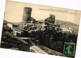 CPA ROCHETAILLÉE-Environs De St-ÉTIENNE Ruines Du Vieux Chateau (263419) - Rochetaillee