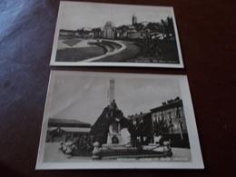 B733   2 Cartoline Savigliano Cuneo Presenza Alcune Pieghe - Italia