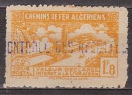 Chemins De Fer Algériens - ALGERIE - Gare De Philippeville - Colis Postaux - N° 112 ** - 1943 - Colis Postaux