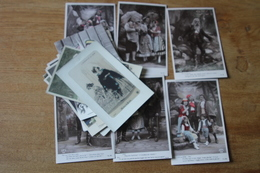 Lot De 20 Cartes Postales Anciennes Dite Fantaisie Belle Serie    Lot 2 - Fantaisies