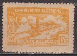Chemins De Fer Algériens - ALGERIE - Gare De Philippeville - Colis Postaux - N° 116 ** - 1943 - Colis Postaux