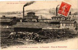 CPA St-ÉTIENNE Et Ses Environs La Ricamarie Mines De MONTRAMBERT (226480) - Saint Just Saint Rambert