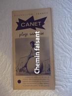 Ancien Document Touristique De CANET 66 - 24 Pages - Europe