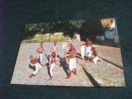 STORIA POSTALE  FRANCOBOLLO BRASILE SALVADOR ESTADO DA BAHIA BRASIL  DANCE AFRICAN ORIGIN MACULELE - Danze