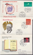 Germany 3 FDCs From 1968 - [7] Federal Republic