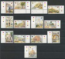 Gibraltar 1993 N° 671/683 ** Neufs MNH Superbes C 30 € Patrimoine Architectural Phare Light House Château Portes Port - Gibraltar