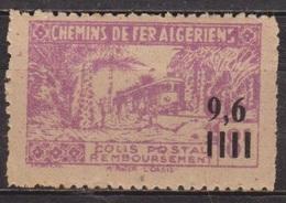 Chemins De Fer Algériens - ALGERIE - Micheline Dans L'oasis M'raier - Colis Postaux - N° 139 ** - 1944 - Colis Postaux