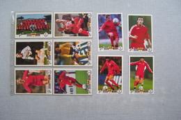 Volledige Reeks Van 16 Postkaarten Van De Voetbal - Sportifs