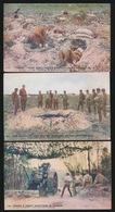 3 KAARTEN ENGELSE SOLDATEN - Guerre 1914-18