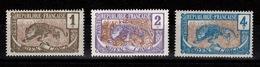 Congo - YV 48 / 49 / 50 N** - Unused Stamps