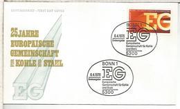 ALEMANIA FDC 1976 Europaische Gemeinschaft - Instituciones Europeas